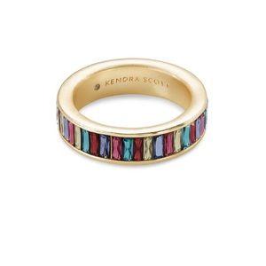 Kendra Scott Gold Jack Band Ring